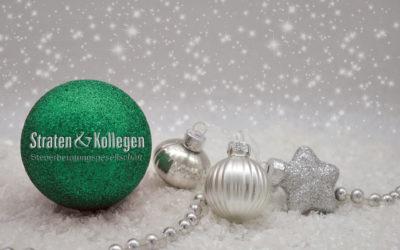 Straten & Kollegen wünscht Frohe Weihnachten